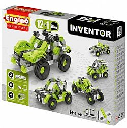 ENGINO - INVENTOR 12models, Cars, 1231