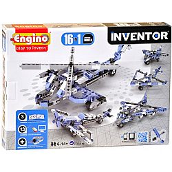 ENGINO - INVENTOR 16models, Aircrafts, 1633