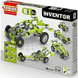 ENGINO - INVENTOR 16models, Cars, 1631