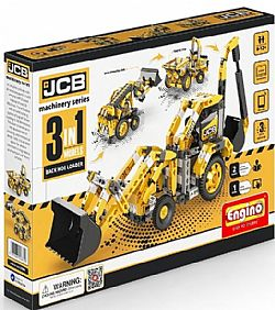 ENGINO - JCB 3in1 - Back Hoe Loader, JCB30