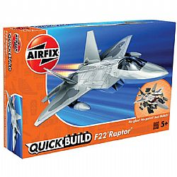 AIRFIX - QuickBuild - F22 Raptor, 6005