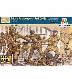 ITALERI - Στρατιωτάκια 1:72 - WW2 British Paratroopers *Red Devils*, 6034
