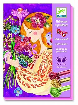DJECO - Ζωγραφίζω με Glitter *The Scent of Flowers*, 09508