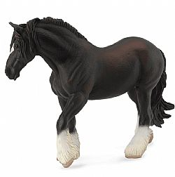 COLLECTA - HORSES - Shire Horse Mare Black, 88582