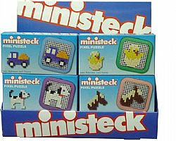 MINISTECK - Pixel Puzzle with Frame, 30045