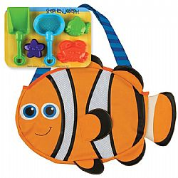 STEPHEN JOSEPH - Τσάντα Παραλίας Beach Totes *Clown Fish*, 1003-40A