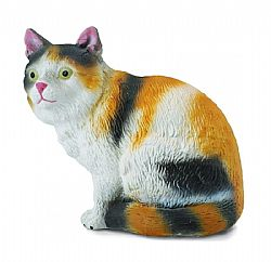 COLLECTA - FARM - 3Colour House Cat Sitting, 88490