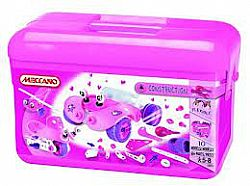MECCANO - CONSTRUCTION 10 Models Box Pink 0279