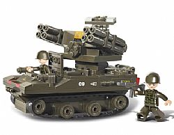 SLUBAN - ARMY - Rocket Launcher 212pcs, 0283