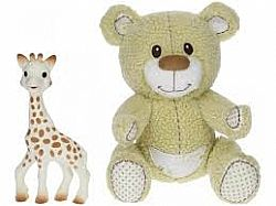 VULLI - Sophie la Girafe - Gabin the Bear Set, 850516