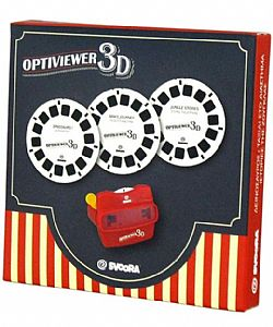 SVOORA - Κάρτες 3τεμ View Master *Optiviewer 3D*, 03006